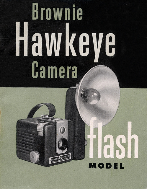Brownie Hawkeye Flash Model Manual Front Cover