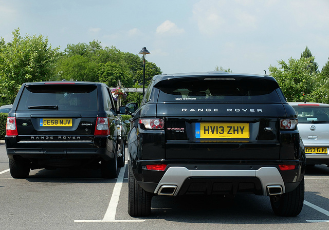 Range Rovers Compared - 17 July 2013