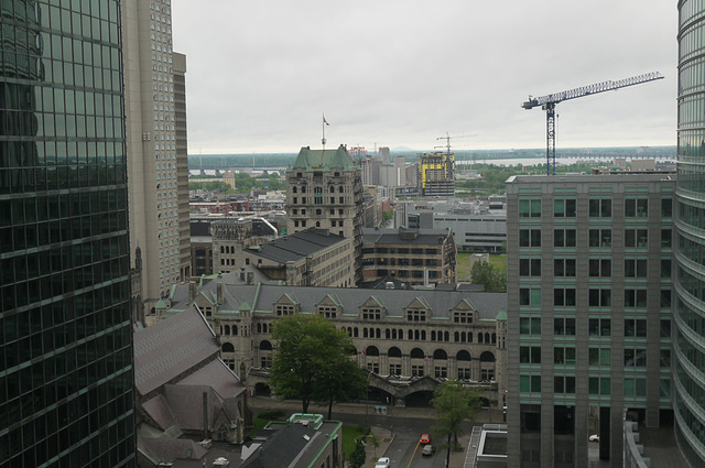 Montreal looking south