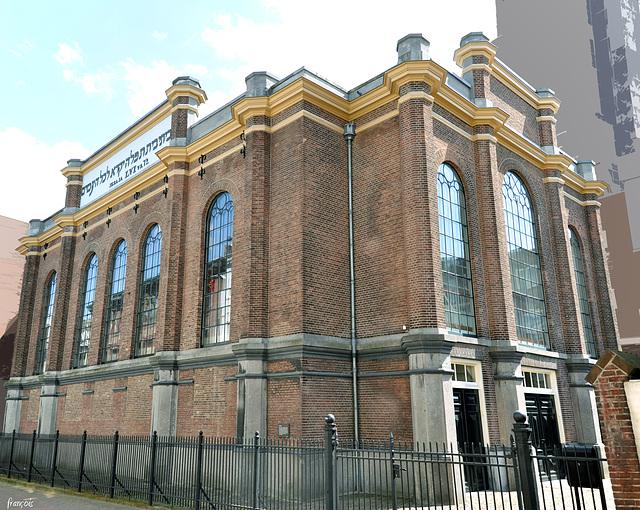 De synagoge in Arnhem