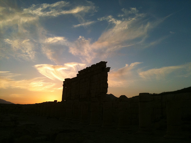 Palmyra, Syria, Christmas Day 2010