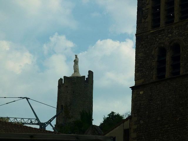 La vierge de Tournon sur Rhône