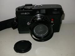 Minolta CLE with 28/2.8 M-Rokkor.