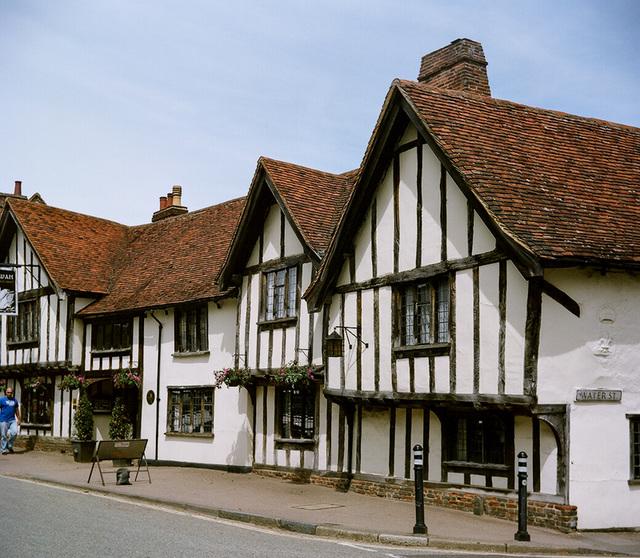 Lubitel in Lavenham (5)