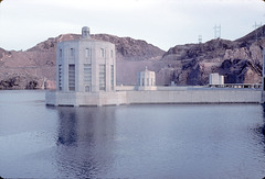 Back of Hoover Dam