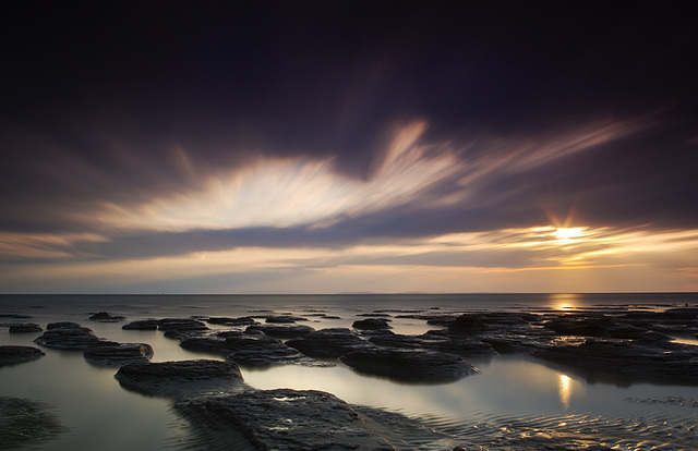 Selsey low tide