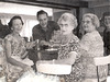 The '60s: Dad, mixing drinks for the ladies at the family gathering, August 1961.