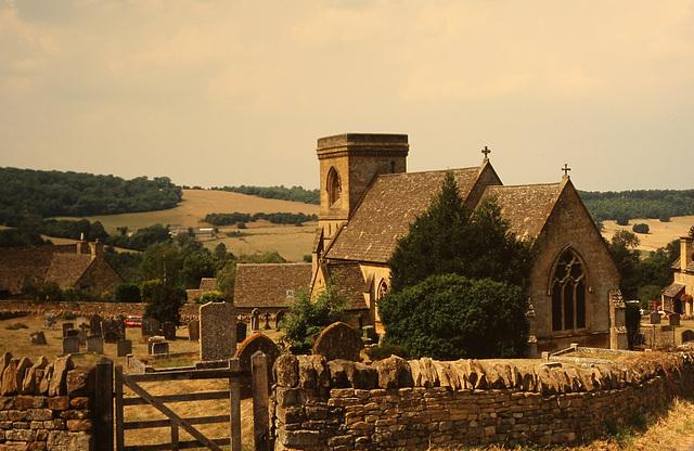 Saint Barnabas Church, Snowshill, Gloucestershire, England.