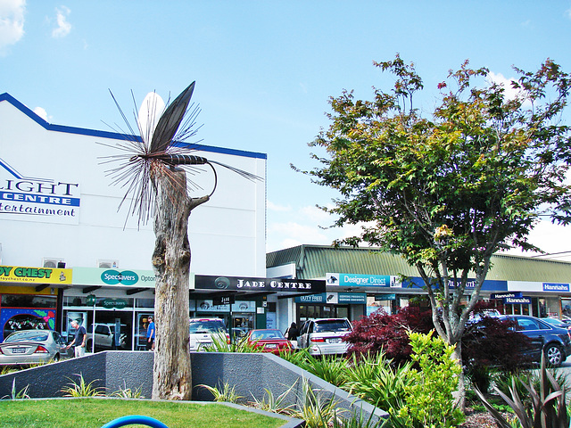 Insect Statue, Central Taupo.