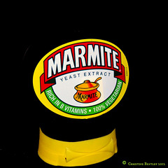 """Marmite           """"You Love it ...Or you hate""""."""