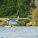 Sea plane on Lake Taupo