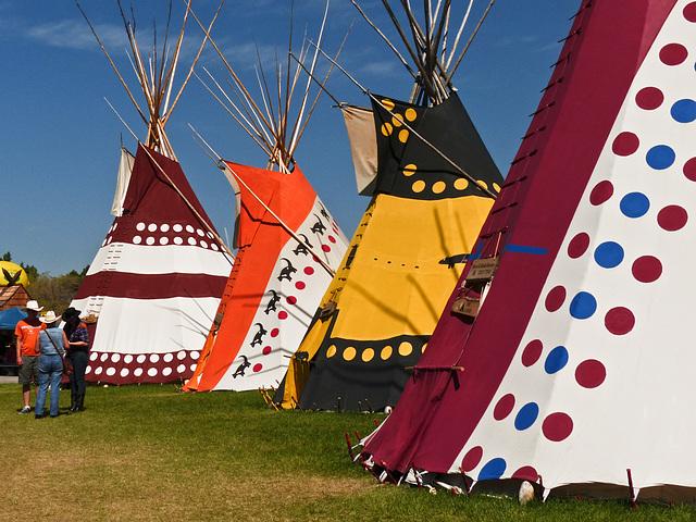 Indian Village, Calgary Stampede