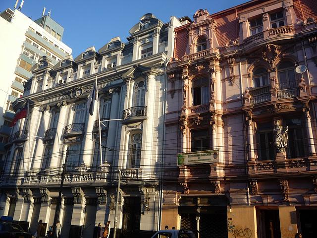 Edificios antiguos de Valparaíso, Chile