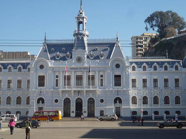 Valparaíso, edificio de la Armada