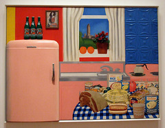 Still Life #30 by Tom Wesselmann in the Museum of Modern Art, December 2007