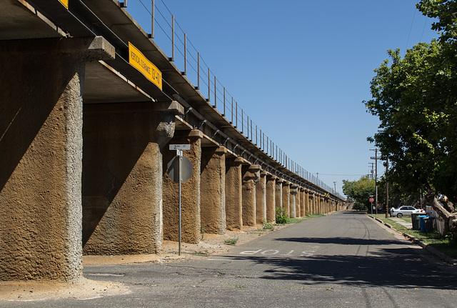 Marysville A street RR  viaduct (0118)