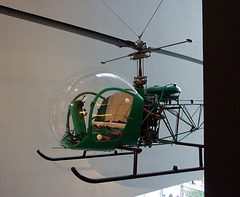 Helicopter in the Museum of Modern Art, August 2007