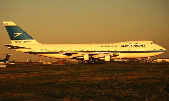 Kuwait Airways Boeing 747-200