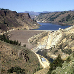 Anderson Ranch Dam, Idaho