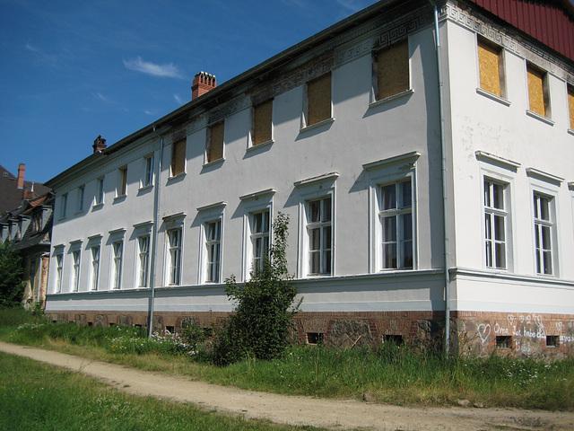 Baruth/Mark - Seitenflügel Schloss
