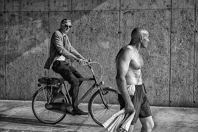 The Ascent of Man, Canal Saint-Denis, Paris, 10 July 2013