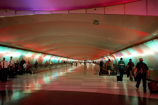 Airport tunnel ~ Multi