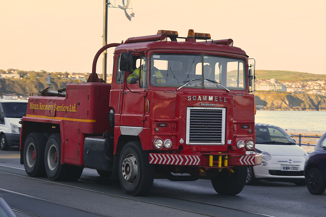 Isle of Man 2013 – Scammell Crusador tow truck