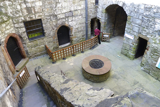 Isle of Man 2013 – Castle Rushen – Courtyard