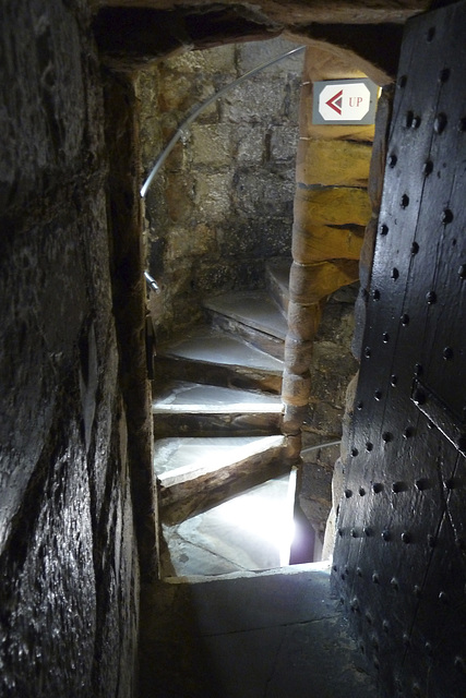 Isle of Man 2013 – Staircase in Castle Rushen