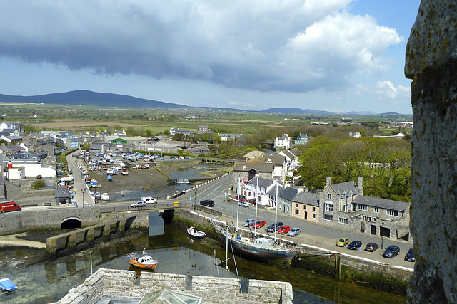 Isle of Man 2013 – View from Castle Rushen