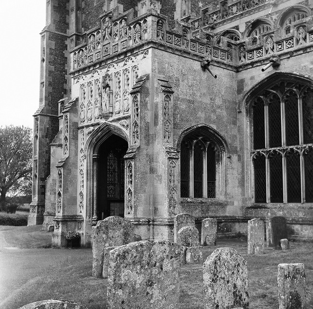 Lavenham church porch