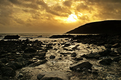 Sundown At Nadler Bay