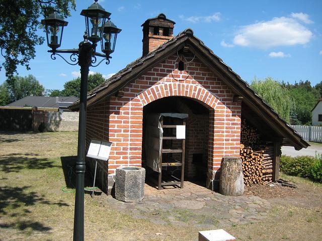Paplitz - Dorfbackofen