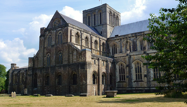 winchester cathedral, hants.