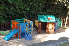 Toddler Playground in Trastevere in Rome, June 2012
