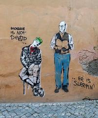 Graffiti in Trastevere in Rome, June 2012