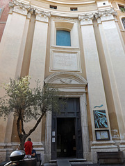The Exterior of the Church of St. Dorothy in Trastevere in Rome, June 2012