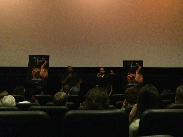 press screening for The Disappearance of Eleanor Rigby