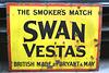 Isle of Man 2013 – Port Erin Railway Museum – Swan Vestas matches