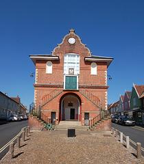 Town Hall, Woodbridge, Suffolk. East Elevation (4)