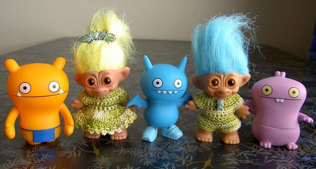 Uglies and trolls