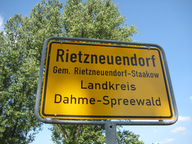 Ortseingänge - Bike 16.07.2013