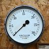Isle of Man 2013 – Port Erin Railway Museum – Vacuum gauge