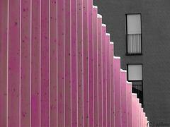 Streifenraster mit Fenstern