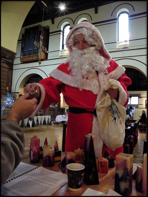 Santa comes to Jericho