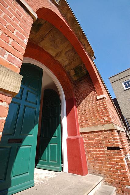 Town Hall, Woodbridge, Suffolk. East Elevation (16)