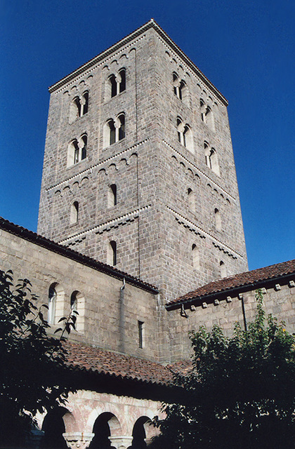 The Tower Inside the Cuxa Cloister at the Cloisters, Oct. 2006