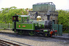 Isle of Man 2013 – № 10 G.H. Wood locomotive drinks some water