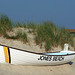 A Rowboat against a Dune in Jones Beach, July 2010