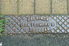 Isle of Man 2013 – Drain cover of Gellings Iron Foundry of Douglas